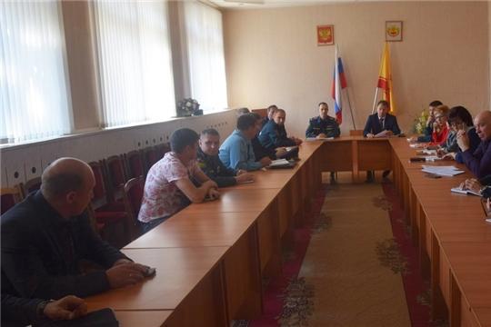 Заседание рабочей группы по подготовке и проведению командно-штабного учения