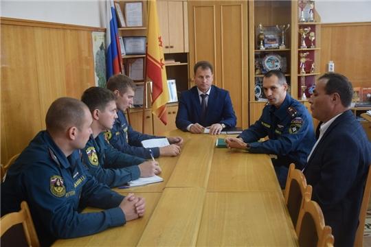 В Шумерле состоялось заседание рабочей группы по проведению в городе командно-штабной тренировки