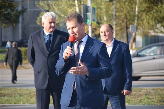 В рамках Дня города Шумерля состоялась праздничная программа в микрорайоне комбината автомобильных фургонов