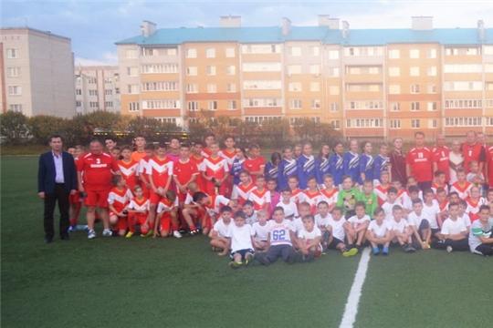 Товарищеские футбольные матчи в рамках Форума активных граждан