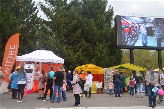 Интерактивные площадки и выставка продукции предприятий города