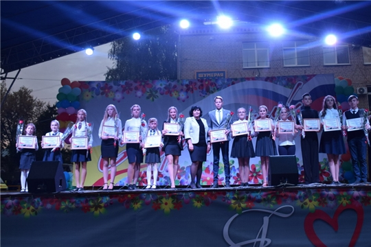 В День рождения Шумерли были отмечены стипендиаты главы администрации и «Спортивные надежды города»