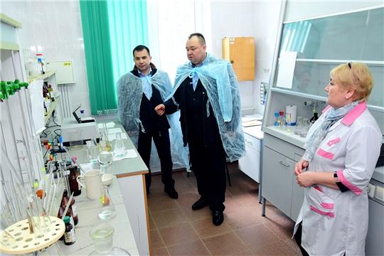 Обеспечение качественной питьевой водой - на контроле главы администрации Ибресинского района Сергея Горбунова