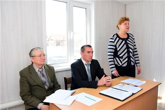 Руководитель Госветслужбы Чувашии Сергей Скворцов с рабочим визитом посетил Ибресинский район