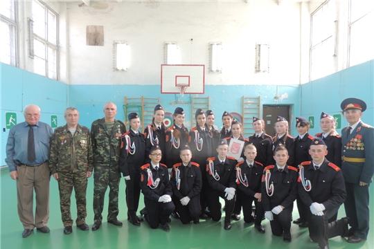 Наши кадеты – призеры  «Кадетской поверки»