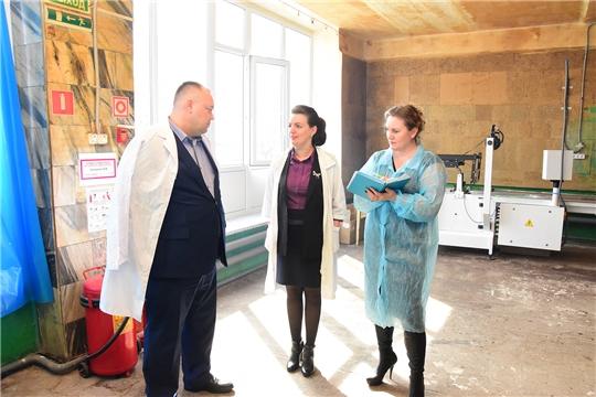 Сергей Горбунов посетил ряд предприятий Ибресинского района