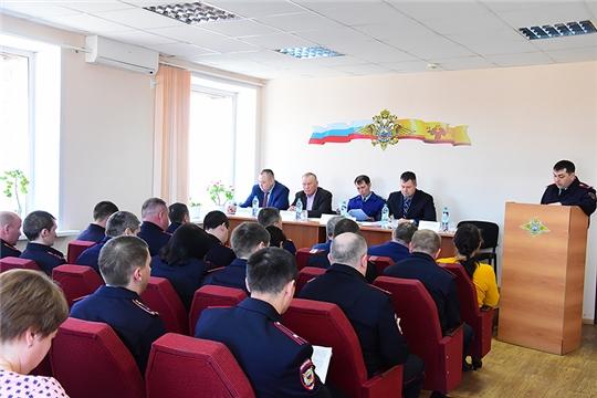 Подведены итоги работы оперативно-служебной деятельности ОМВД России по Ибресинскому району за I квартал 2019 года