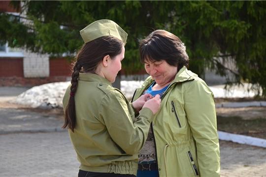 Cтартовала Всероссийская акция «Георгиевская ленточка»