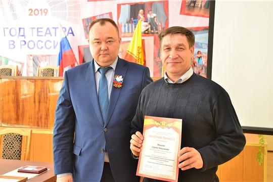 Глава администрации Ибресинского района Сергей Горбунов провел еженедельную планерку