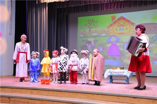 Прошел муниципальный этап республиканского конкурса - фестиваля «Хунав» среди дошкольных образовательных учреждений района
