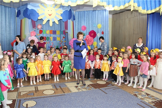 В детском саду «Радуга» прошёл очередной музыкальный фестиваль детского творчества  «Весенние нотки»