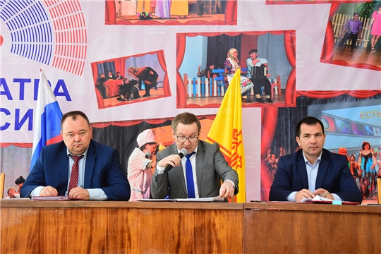 Состоялось 37-е очередное  заседание Собрания депутатов Ибресинского района Чувашской Республики 6 созыва