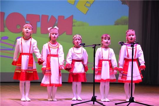 В Ибресинском районе прошел конкурс «Веселые нотки» среди дошкольных образовательных учреждений на призы Ибресинского РАЙПО