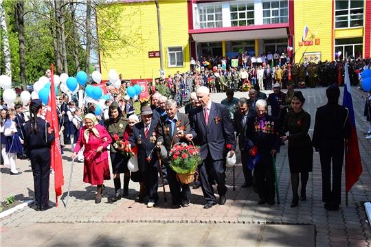 74-ую годовщину Победы в Великой Отечественной войне отметили в Ибресинском районе