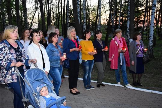 Прошла всероссийская  акция «Свеча памяти» в Ибресинском районе