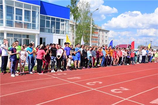 Прошла 24-я легкоатлетическая эстафета на призы Ибресинской районной газеты «Çĕнтерỹшĕн» («За победу»)