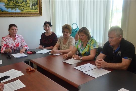 Состоялось внеочередное заседание Ибресинского районного Собрания депутатов 6 созыва