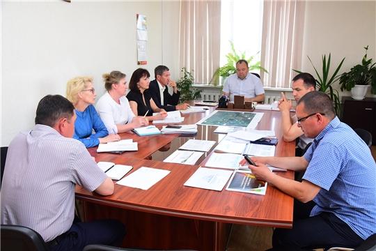 Состоялось совещание по вопросам развития ЖКХ
