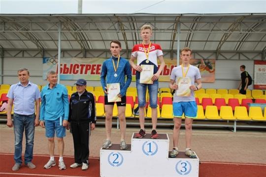 Рахимов Реналь занял 1 место на финале Кубка Чувашской Республики по легкой атлетике