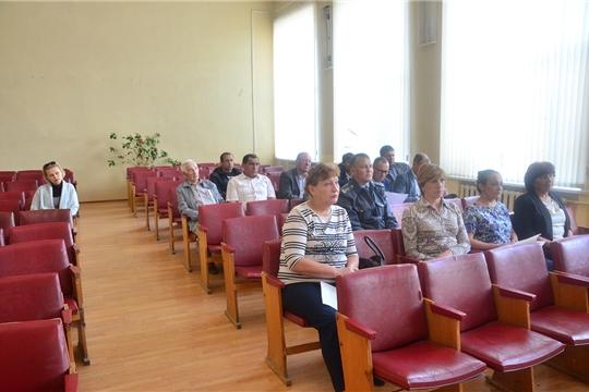 В Ибресинском районе состоялось совещание с руководителями сельскохозяйственных предприятий