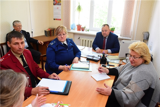 В Ибресинском районе состоялся прием граждан по вопросам защиты прав граждан в сфере экологии