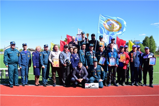 В Ибресинском районе прошел смотр-конкурс на звание «Лучшее подразделение ДПО Чувашской Республики в 2019 году»