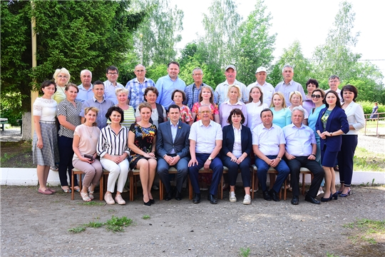 В Ибресинском районе состоялся республиканский семинар-совещание с представителями СМИ в Ибресинском райпо