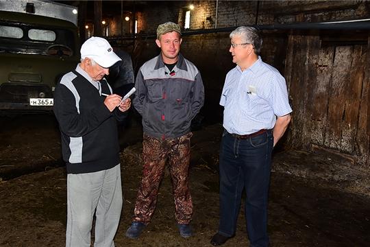 Заместитель главы администрации Ибресинского района Валерий Гаврилов: «Пастбищный выгул повышает надои»