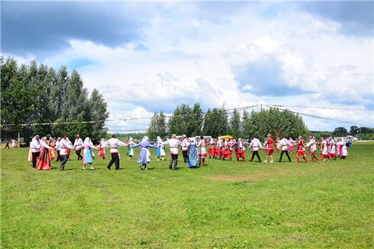Деревня Тойси-Паразуси Ибресинского района отметила 300-летие
