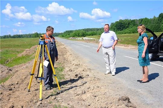 Идет капитальный ремонт автомобильной дороги «Ибреси-Березовка-Кудеиха» и Березовской основной школы