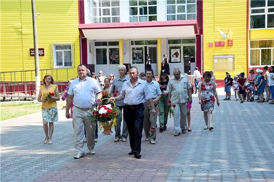 В День памяти и скорби в Ибресинском районе прошел митинг