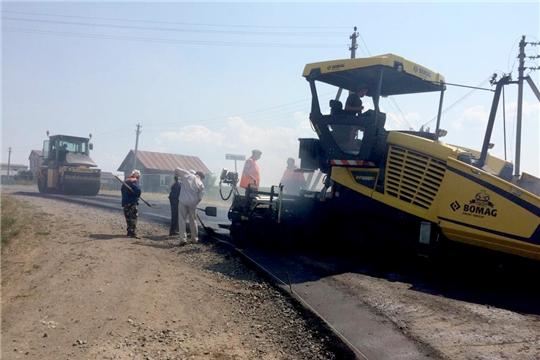 Завершается ремонт муниципальной автодороги «Аниш»-Хормалы