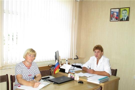 Прошло рабочее совещание ветеринарных специалистов Ибресинского района