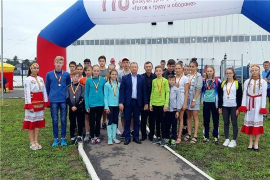 Реналь Рахимов - серебряный призер республиканского летнего фестиваля ГТО среди школьников