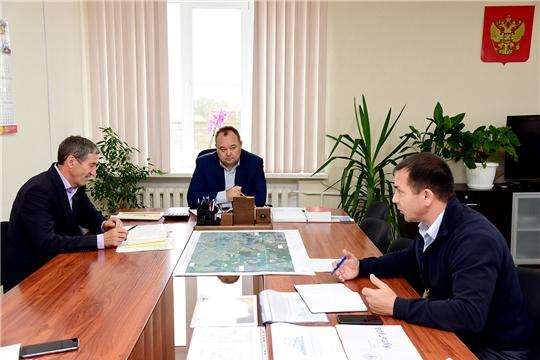 Глава администрации Ибресинского района Сергей Горбунов провел совещание с руководителями коммунальных служб района