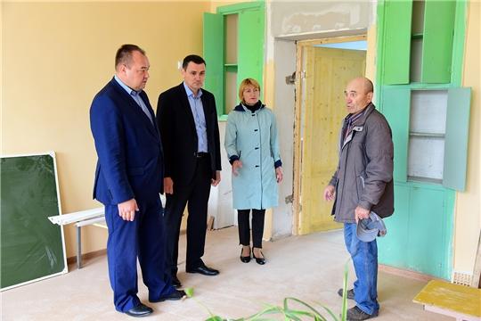Председатель Комитета Госсовета Чувашии Сергей Павлов ознакомился с ходом реализации национальных проектов в Ибресинском районе