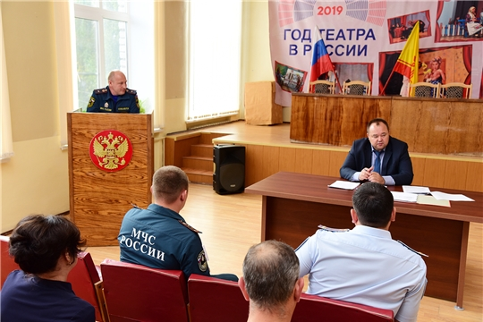 Состоялось заседание Ибресинской районной комиссии по предупреждению и ликвидации чрезвычайных ситуаций и обеспечению пожарной безопасности