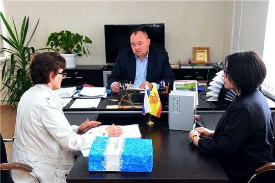 Об оформлении земельного участка - на приеме у главы администрации Ибресинского района Сергея Горбунова