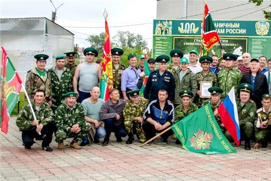 В Цивильском районе прошли соревнования памяти погибших пограничников