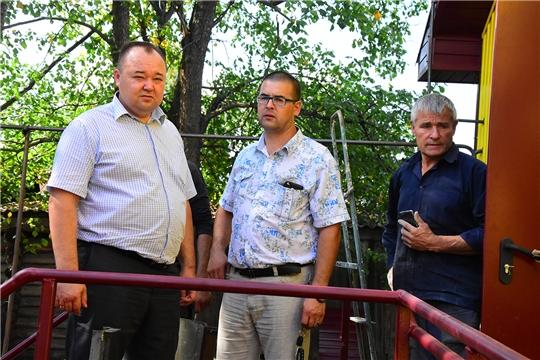Завершается строительство фельдшерско-акушерского пункта в д. Новые Высли
