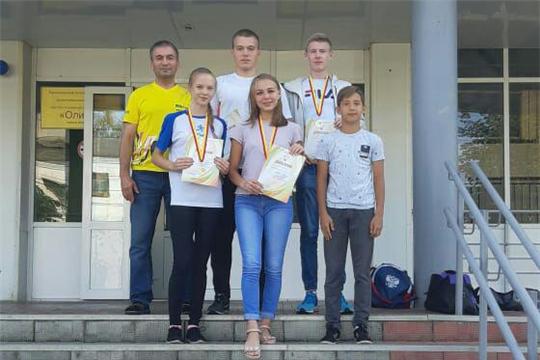 Команда Ибресинского района заняла первое место на соревнованиях по полиатлону