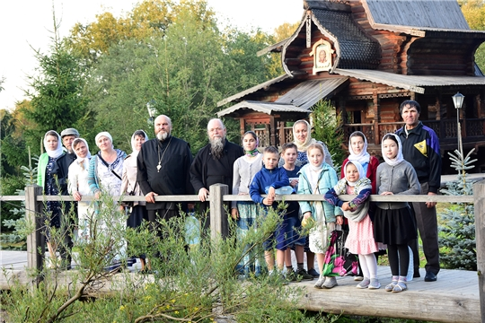 Паломники Ибресинского района посетили православные храмы г. Москвы и Московской области