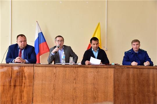 Состоялось 40-е очередное  заседание Собрания депутатов Ибресинского района Чувашской Республики 6 созыва