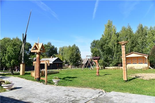 Обновленный Ибресинский этнографический музей под открытым небом готовится принять первых гостей
