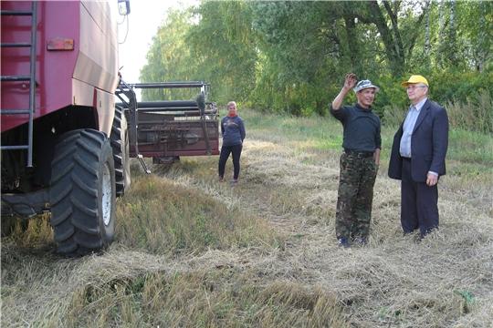 Уборка зерновых близится к завершению