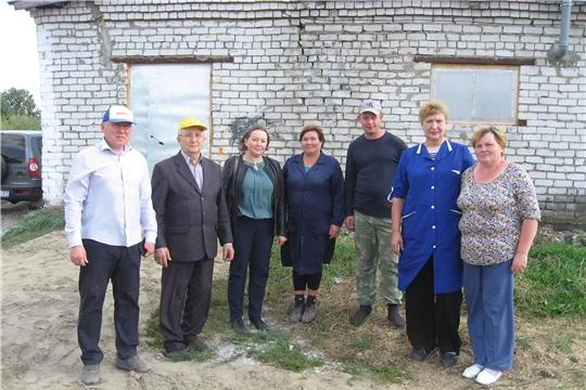 Проверка готовности животноводческих ферм для перевода скота на зимнее стойловое содержание