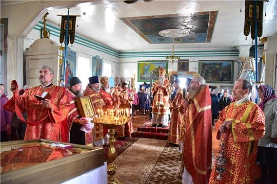 Божественная Литургия в день памяти священномученика Илии Хормалинского