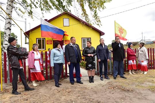 В д. Новые Высли Ибресинского района заработал новый фельдшерско-акушерский пункт