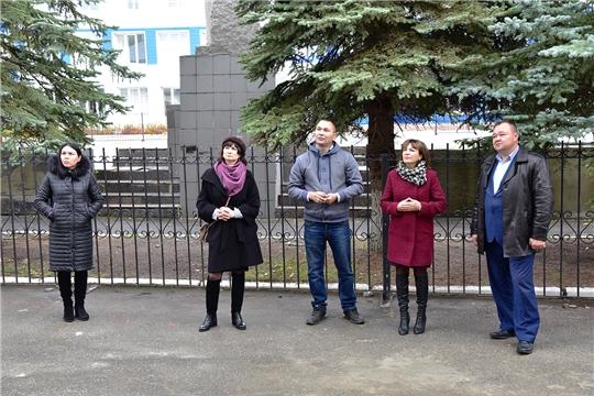 Сергей Горбунов ознакомился с ходом ремонта Ибресинской детской школы искусств