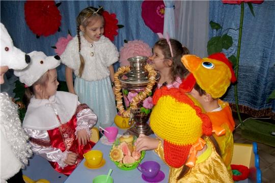Театральный фестиваль в детском саду